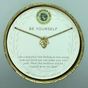 "SLV ""Be Yourself"" Ivy Necklace"